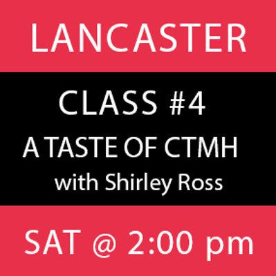 Class #4: Lancaster