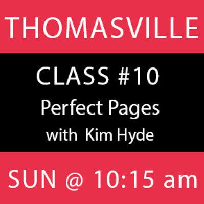 Class #10—Thomasville