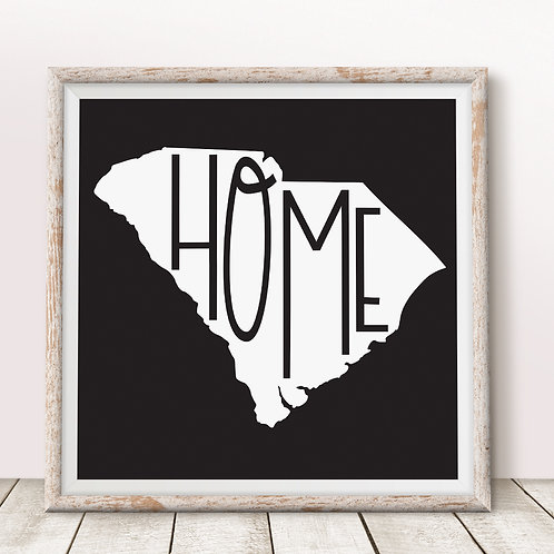 Home-SC Black Print