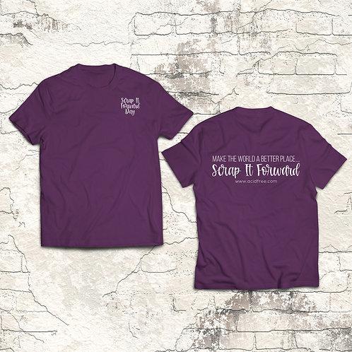 Scrap It Forward T-shirt
