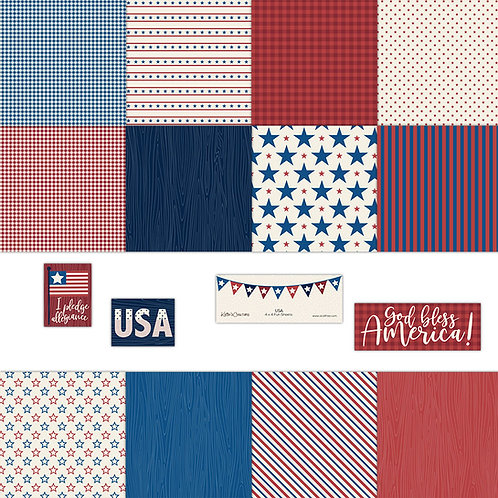 USA 4x4 Fun Sheets