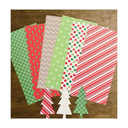 Christmas Whimsy  Paper & Die Cut Pack