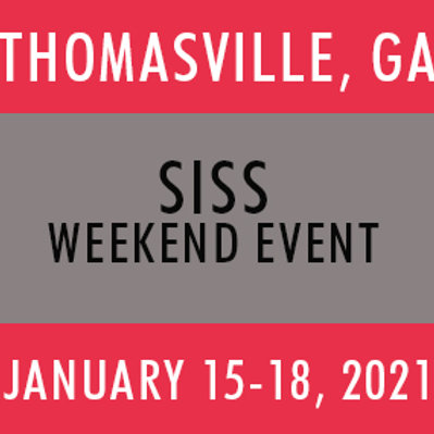 SISS Thomasville 2021 (4 Day Event)