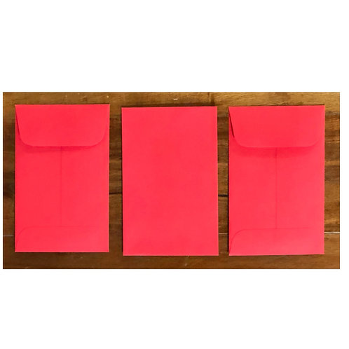 Mini Envelopes -Red