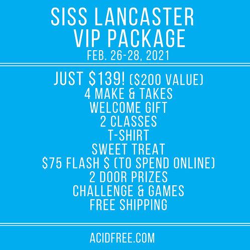 SISS LANCASTER VIP Package