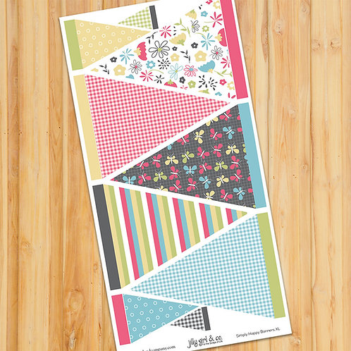 Simply Happy Banners XL