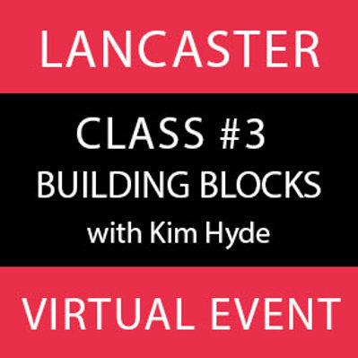 Class #3-Lancaster Virtual
