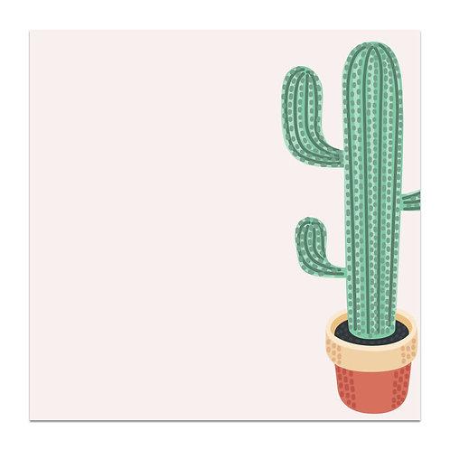 Cactus - 5x5 Simple Note