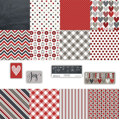 Joyful Heart 4x4 Fun Sheets