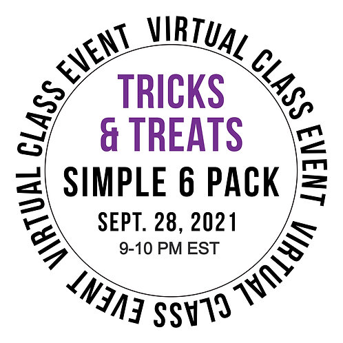 Tricks and Treats Simple 6 Pack Class Box