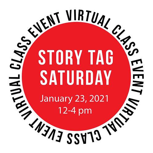 Story Tag Saturday Class Box: 12X12