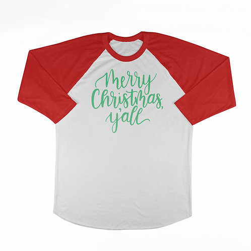 Merry Christmas, Y'all T-shirt