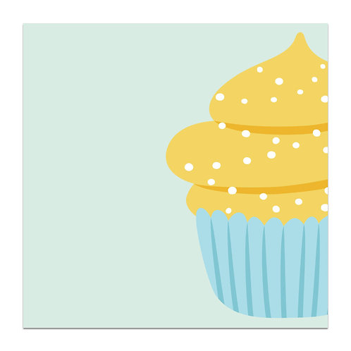 Cupcake - 5x5 Simple Note