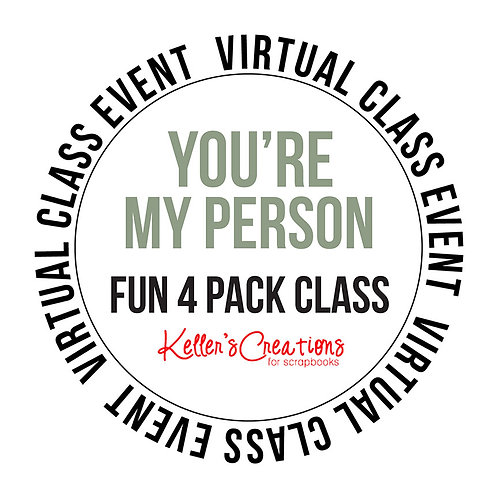 You're My Person 4 Pack Class Box