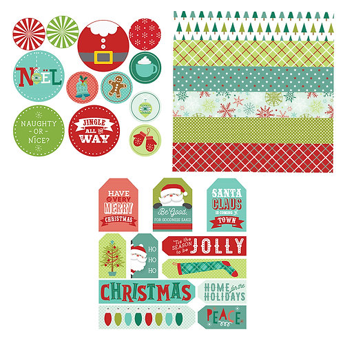 Christmas Tag Toppings
