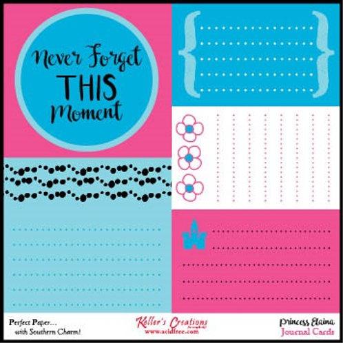 Princess Elaina Journal Cards