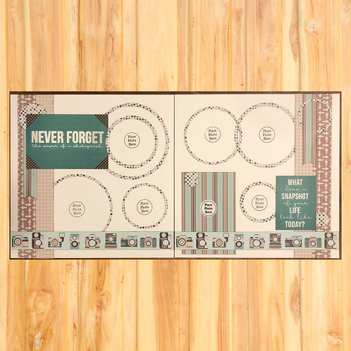Never Forget Page Kit
