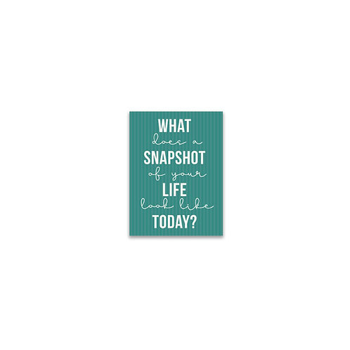 What Does a Snapshot Look Like... Flash Card