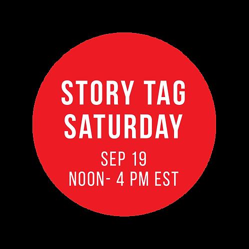 Story Tag Saturday Class Box: 8x8