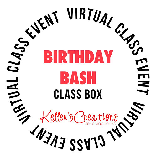 Birthday Bash (red) Class Box