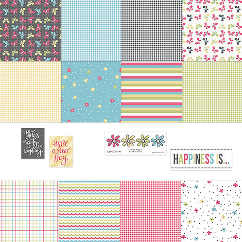 Simply Happy 4x4 Fun Sheets