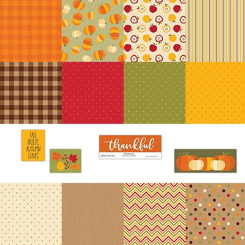 Fall Harvest 4x4 Fun Sheets