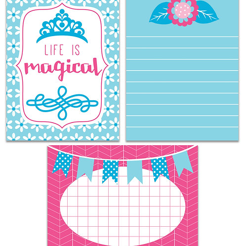 Life is Magical- Journal It Fast Cards