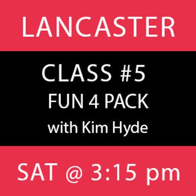 Class #5: Lancaster