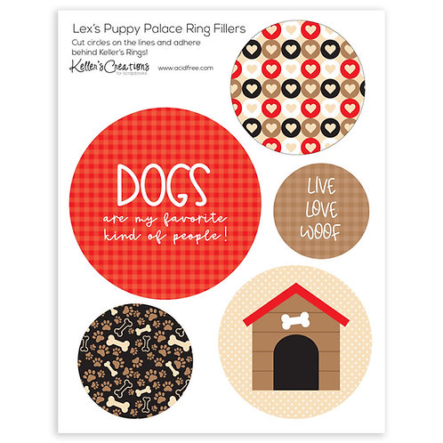Lex's Puppy Palace Ring Fillers