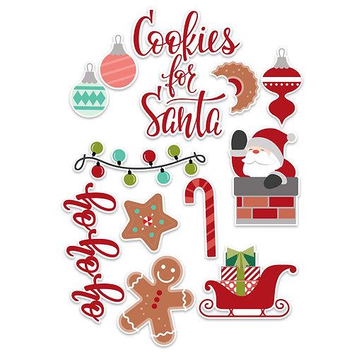 Santa Die Cuts