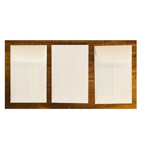 Mini Envelopes -White