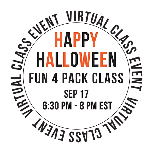 Happy Halloween Fun 4 Pack Class Box