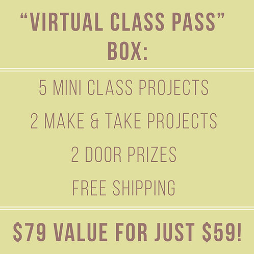Virtual Class Pass Box (April 30-May 2, 2021)