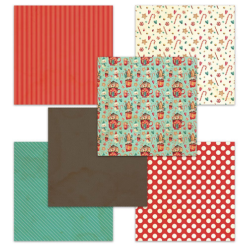 Cozy Christmas 6 x 6 Fun Sheets