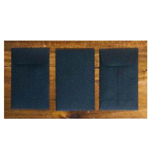 Mini Envelopes -Black
