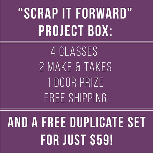 Scrap It Forward:  Project Box For 2