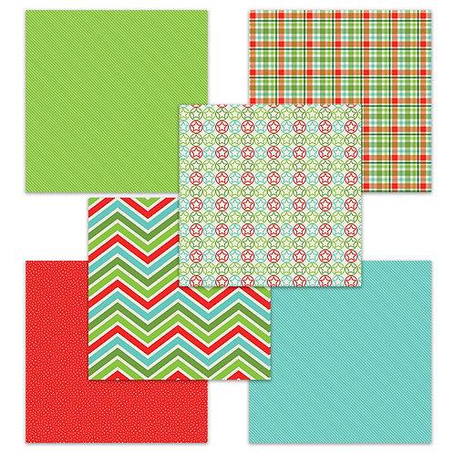 ABCs of Christmas 6 x 6 Fun Sheets