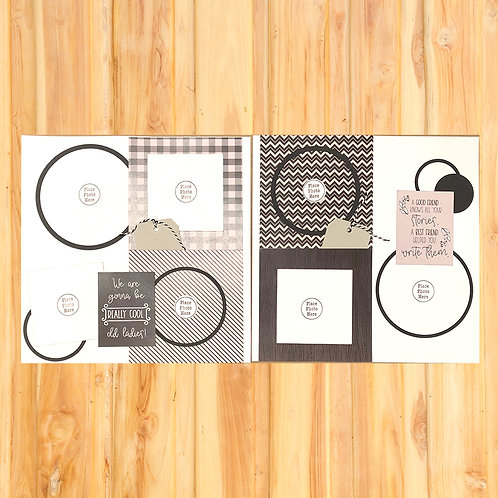 Best Friends (Write Stories) Page Kit