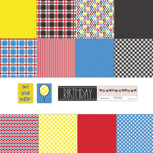 Birthday Wishes 4x4 Fun Sheets