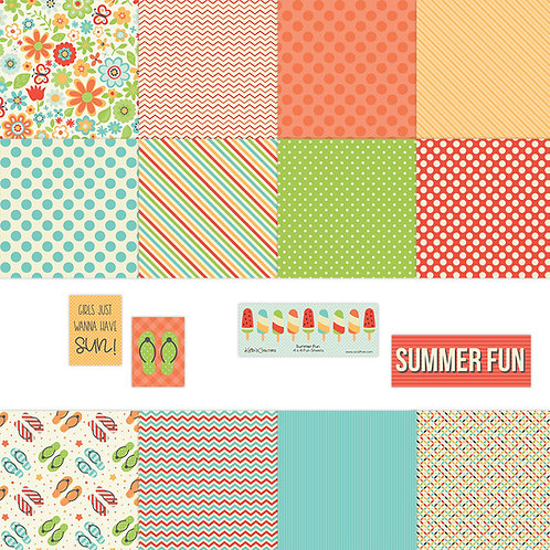 Summer Fun 4x4 Fun Sheets
