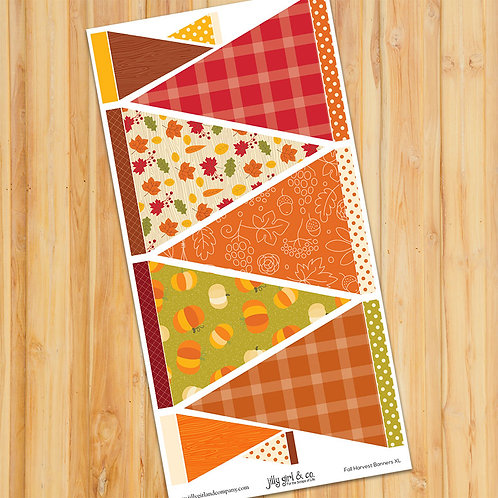 Fall Harvest Banners XL