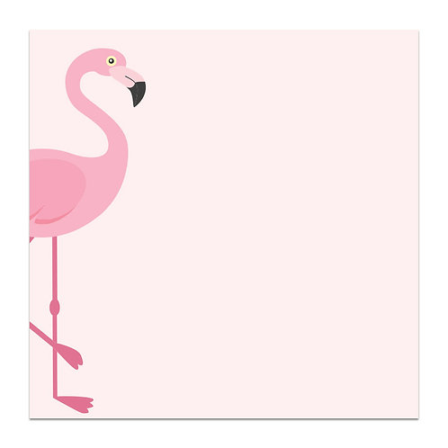 Flamingo - 5x5 Simple Note