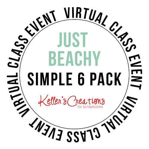 Just Beachy Simple 6 Pack Class Box