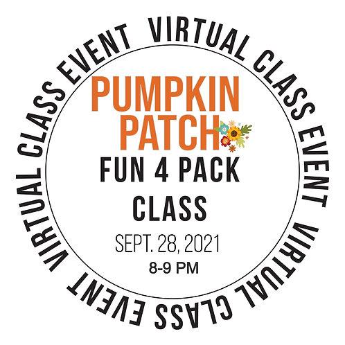 Pumpkin Patch Fun 4 Pack Class Box