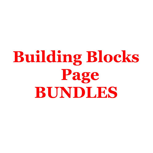 Building Blocks Page Bundles