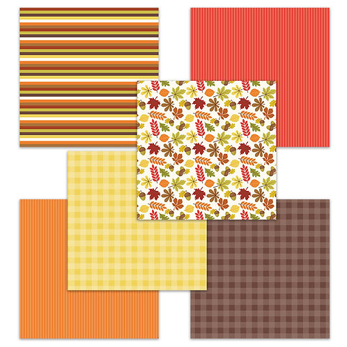 ABCs of Autumn 6 x 6 Fun Sheets