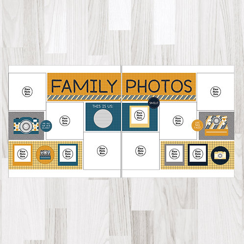 Family Photos-Perfect Pages