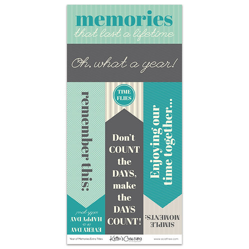 Year of Memories Extra Titles