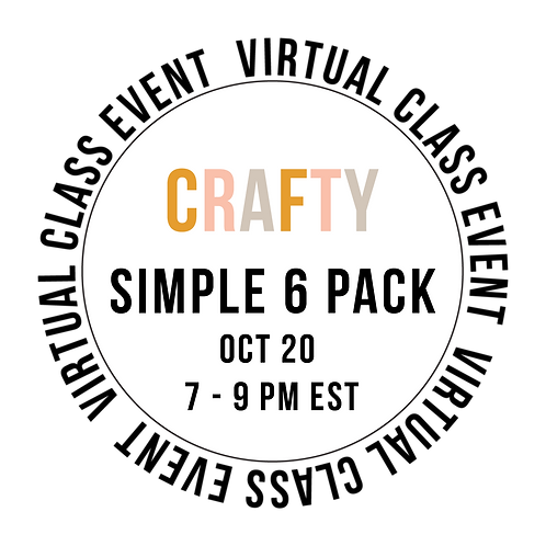 Crafty Simple 6  Pack Class Box