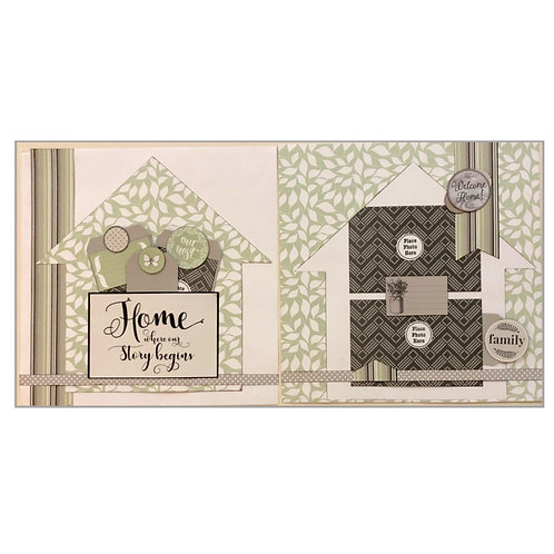 Home Where Our Story Begins Page Kit